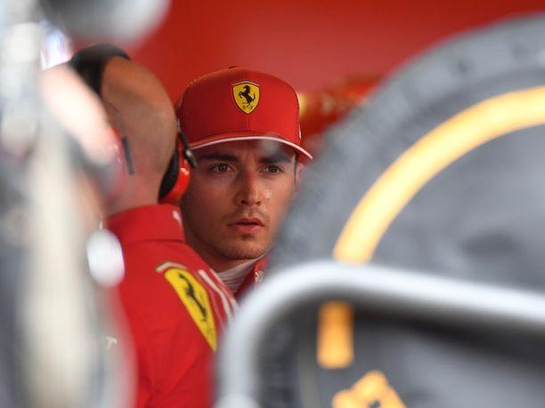 Charles Leclerc kävi kuumana sen jälkeen, mitä hänelle tapahtui Monacon GP:n aika-ajoissa.