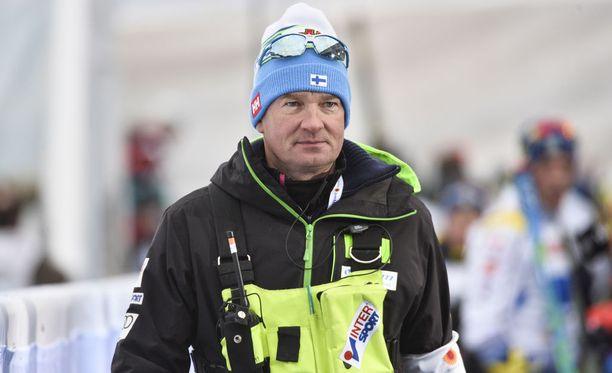Matti Haavisto on hiihdon uusi päävalmentaja.
