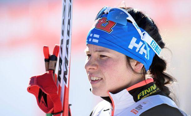 Krista Pärmäkoski päättää 10 kilometrin perinteiseen osallistumisesta perjantaina.