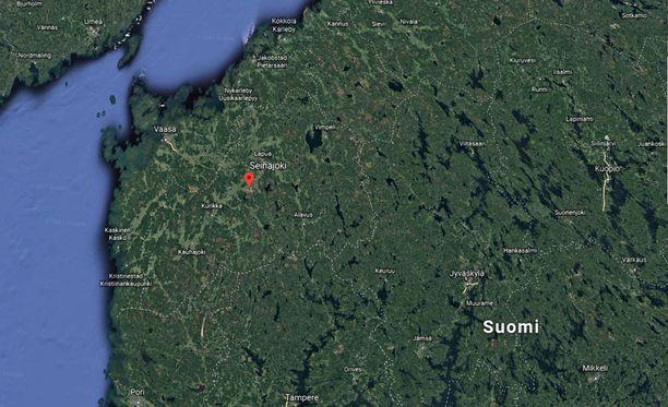 Liikenneonnettomuus tapahtui Seinäjoen läheisyydessä Kyrönjoen ylittävällä sillalla.