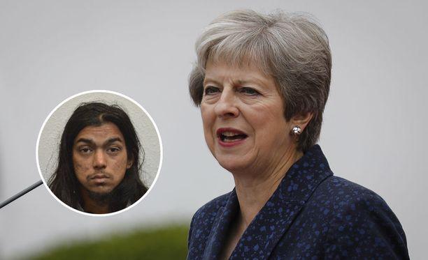 Naa'imur Zakariyah Rahman sai elinkautisen vankeusrangaistuksen Britannian pääministeri Theresa Mayn murhan suunnittelemisesta.