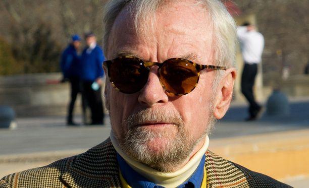 John G. Avildsen kävi vuonna 2014 Rockyn kuvauspaikalla.