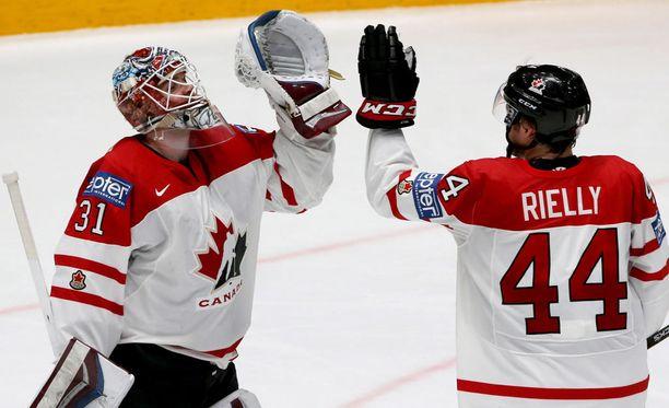 Kanadalla on MM-kisoissa riittänyt aihetta yläviitosiin.