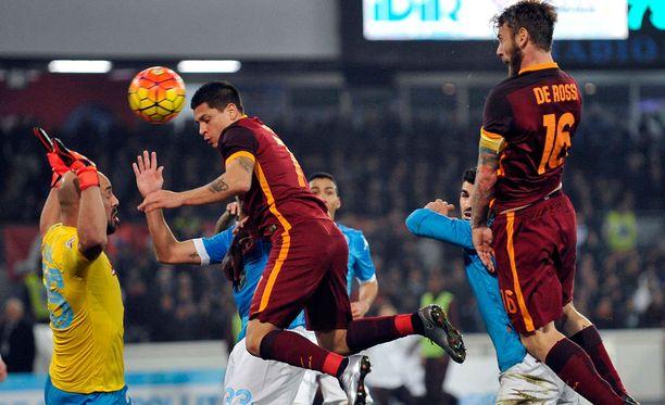 Napolin ja Roman matsi päättyi maalittomana.
