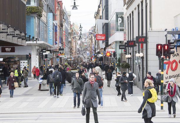 Tukholmassa on laskettu asuvan yli 70 000 suomalaistaustaista.