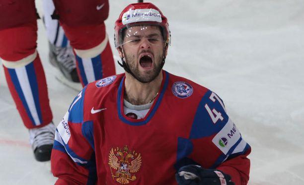 Tulisieluinen Aleksandr Radulov kuumeni KHL-ottelussa.