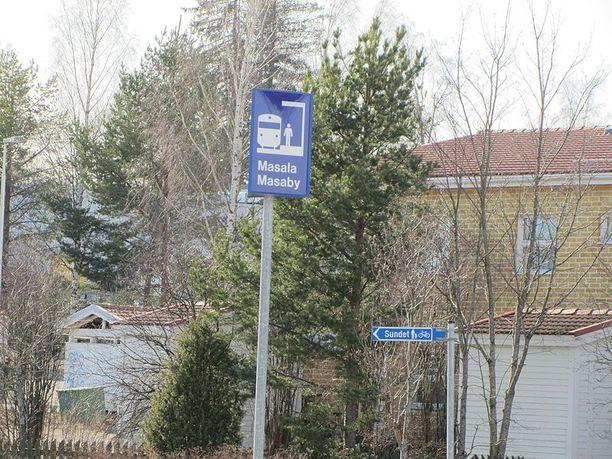 Epäilty naapurimurha tapahtui Kirkkonummen Masalassa tammikuun puolivälissä. Kuvan talo ei liity tapaukseen.