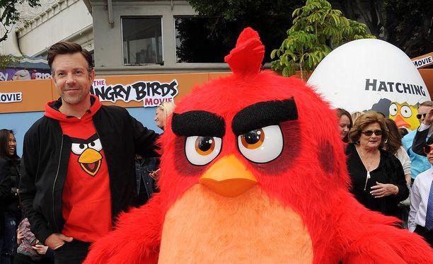 Muun muassa Hollywood-tähti Jason Sudeikis on lainannut äänensä Angry Birds -elokuvaan.