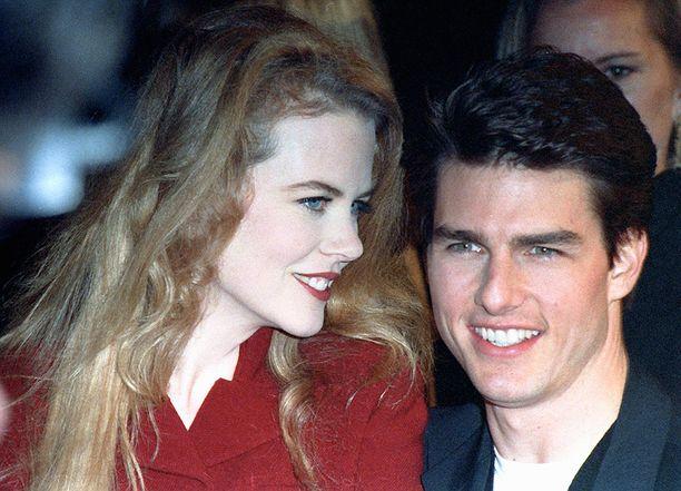 Nicole Kidman ja Tom Cruise pitivät yhtä yli 10 vuotta.