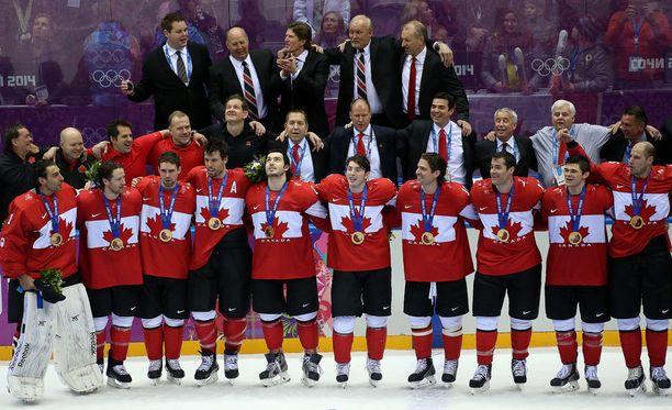 NHL-pelaajat ovat kiekkoilleet olympialaisissa vuoden 1998 kisoista lähtien. Vuonna 2014 Sotshissa juhli Kanada.
