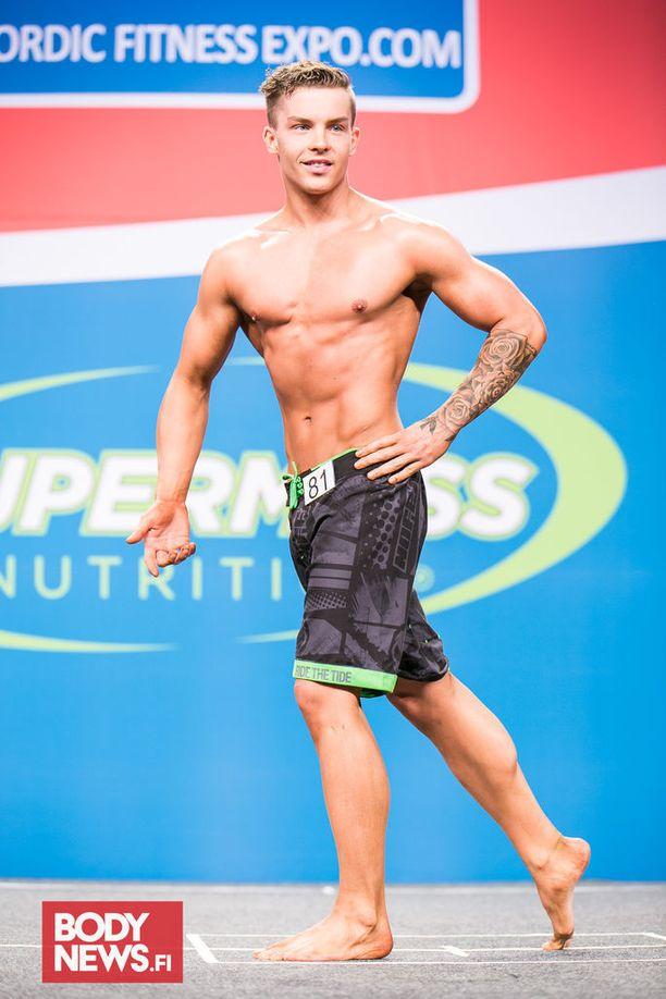 Viime viikonloppuna Lassi Lappi kilpaili men's physique -sarjan junioreiden SM-kisoissa.