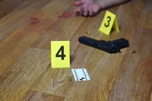 Murhien määrä kasvoi räjähdysmäisesti Yhdysvalloissa vuonna 2020, FBI:n tilastot osoittavat. Kuvituskuva.