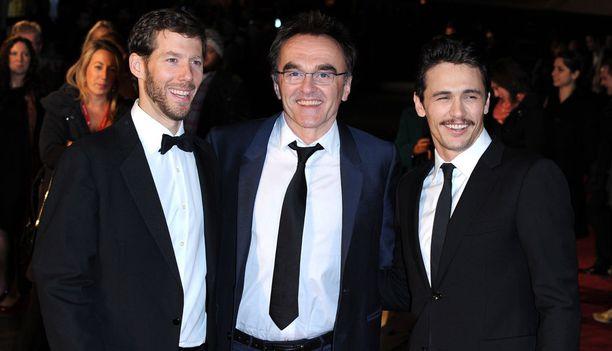 Aron Ralston osallistui elokuvan ensi-iltajuhlallisuuksiin vuonna 2010 Danny Boylen ja James Francon kanssa.