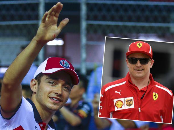 Uusi Ferrari 488 Pista löytyy sekä Charles Leclercin että Kimi Räikkösen autotallista.