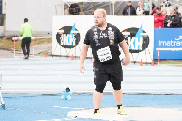 Nico Oksanen Kalevan kisoissa viime vuonna.