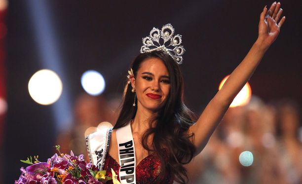 Filippiinien Catriona Gray on Miss Universum 2018.