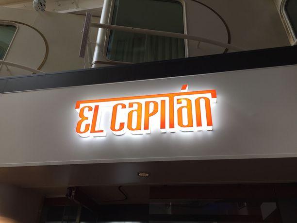 Kaipaako seinäsi El Capitan -valokylttiä?