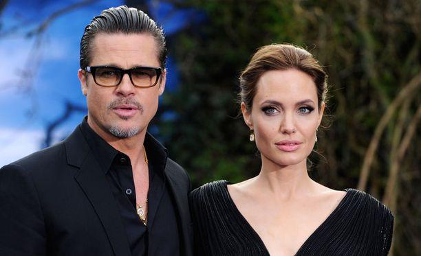 Brad Pitt ja Angelina Jolie ehtivät olla yhdessä 12 vuotta.