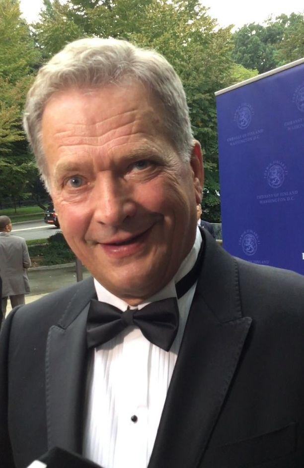 Presidentti Niinistö uumoilee, että myös Yhdysvaltain sisäinen tilanne nousee esiin YK-kokokouksen yhteydessä.