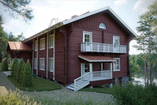 Hupelin Uittokämppä majoitti aikoinaan tukinuittajia Vaajakoskella.