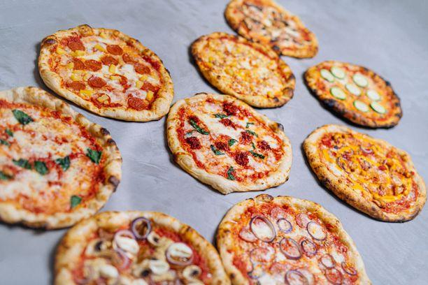 Pizza Cartelin pizzat ovat hinnaltaan kymmenen euron molemmin puolin.