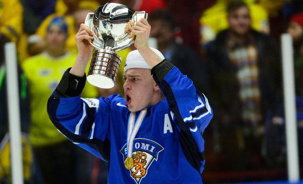 Rasmus Ristolainen ratkaisi nuorten maailmanmestaruuden kaksi vuotta sitten.