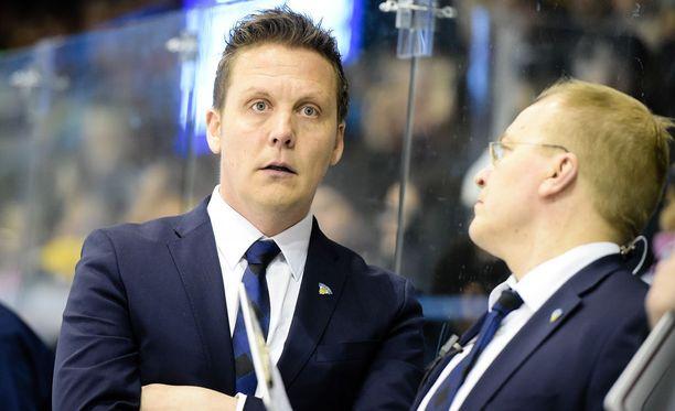 Lauri Marjamäki toimii ensimmäistä kertaa MM-kisoissa Suomen päävalmentajana.