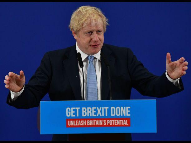 Britannian pääministeri Boris Johnson on marssimassa kohti merkittävää vaalivoittoa.