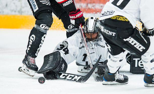 Oskari Setänen torjui TPS:lle voiton Jyväskylässä.