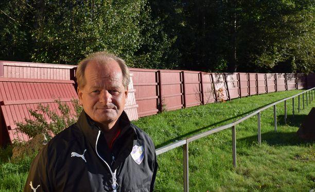 Antti Muurisen valmentama HIFK harjoitteli torstaina Oulunkylässä.