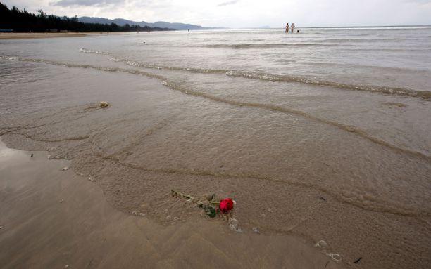 Khao Lakin rannasta tuli monen viimeinen leposija vuoden 2004 tsunamissa.