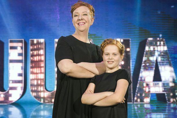 Iso-Jenni ja pikku-Jenni.