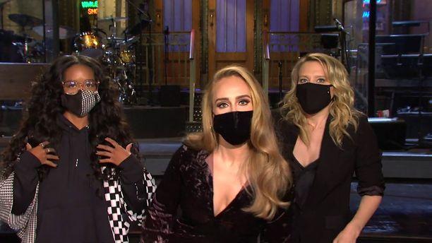 Adele emännöi SNL-jaksoa Yhdysvalloissa tänä lauantaina.