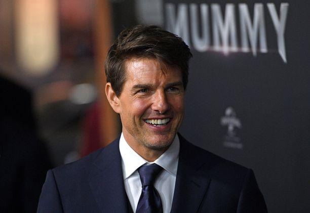 Yhdysvaltalaisnäyttelijä Tom Cruise on kuuluisa skientologi.
