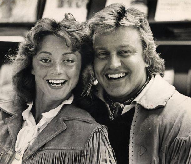 Kike ja Kimmo Elomaa vuonna 1982.