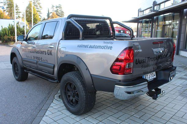 Tested by Valmet Automotive. Arvokas tarra.