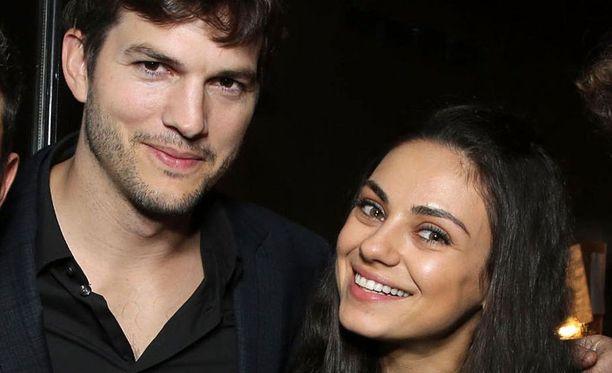 Kutcher ja Kunos avioituivat vuonna 2015.