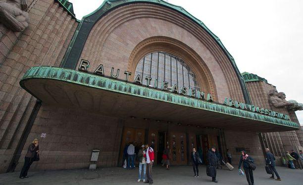 Ei liene yllätys, että Helsingin päärautatieasema on Suomen vilkkain.