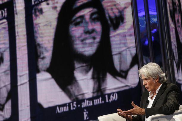 Kadonneen Emanuela Orlandin veli Pietro Orlandi puhui televisiossa sen jälkeen, kun tutkinta aloitettiin uudelleen viime kesänä Vatikaanista löytyneiden luiden jälkeen. Luiden epäiltiin kuuluvan Emanuelalle.