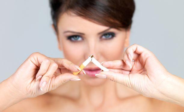 Tupakoinnin lopettaminen on iso palvelus itsellesi.