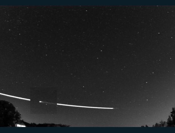 Kuvakaappaus. Tässä otos gif-videolta, joka on nähtävissä Euroopan avaruusjärjestö Esan sivuilla.