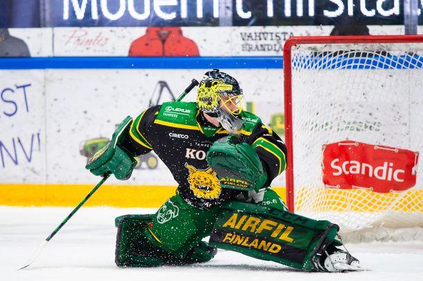 Lukas Dostal pelaa erinomaista kautta Ilveksessä.