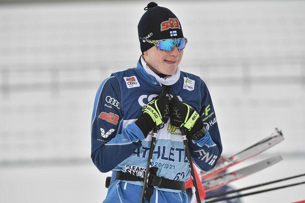 Remi Lindholm debytoi miesten maailmancupissa Salpausselällä.
