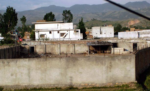 Tästä rakennuksesta Osama bin Laden löydettiin.