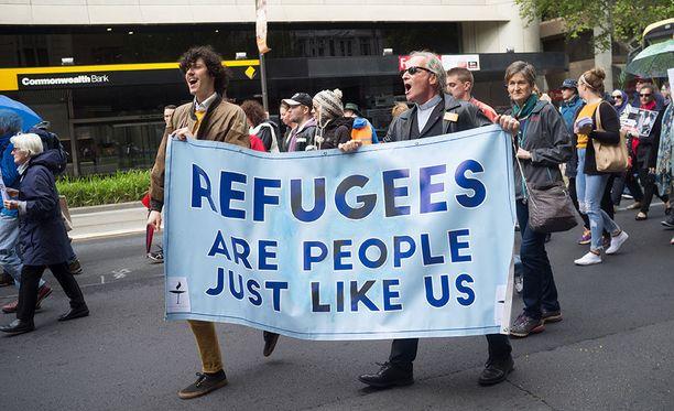 Australiassa on osoitettu mieltä Manuksen saaren pidätyskeskuksessa pidettyjen turvapaikanhakijoiden puolesta useaan otteeseen.