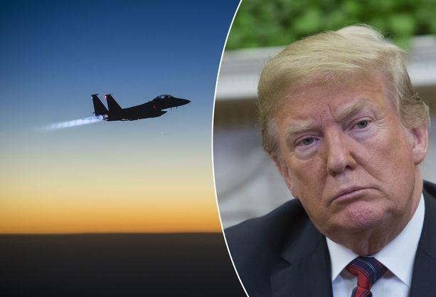 Yhdysvallat on lisännyt Lähi-idässä tehtyjen ilmaiskujen määrää presidentti Donald Trumpin aikana.