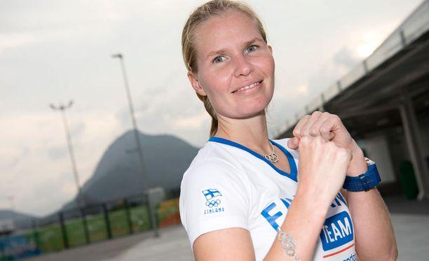 Suvi Mikkonen aloitti Rion olympiataipaleensa voitolla.