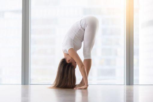 Nouse seisomaan ja kurota varpaitasi kohti suorin jaloin. Jos onnistuit, voit olla itseesi tyytyväinen.