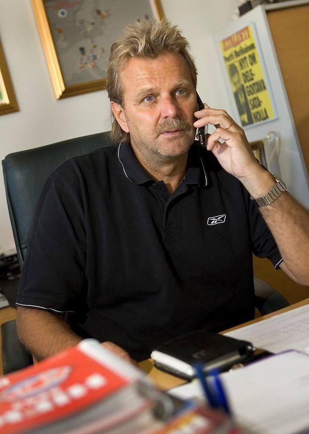 Pentti Matikainen työskenteli HIFK:n toimitusjohtajana 2001-2008.