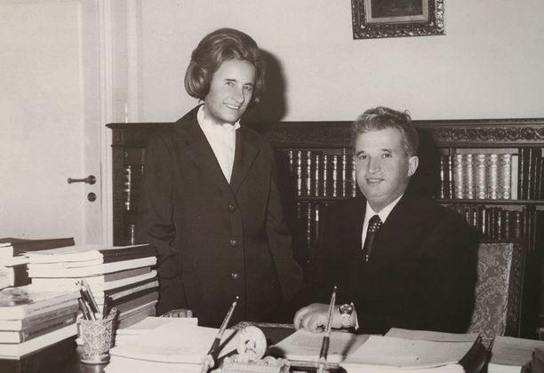 Elena Ceausesculla on sanottu olleen jopa miestään enemmän valtaa.